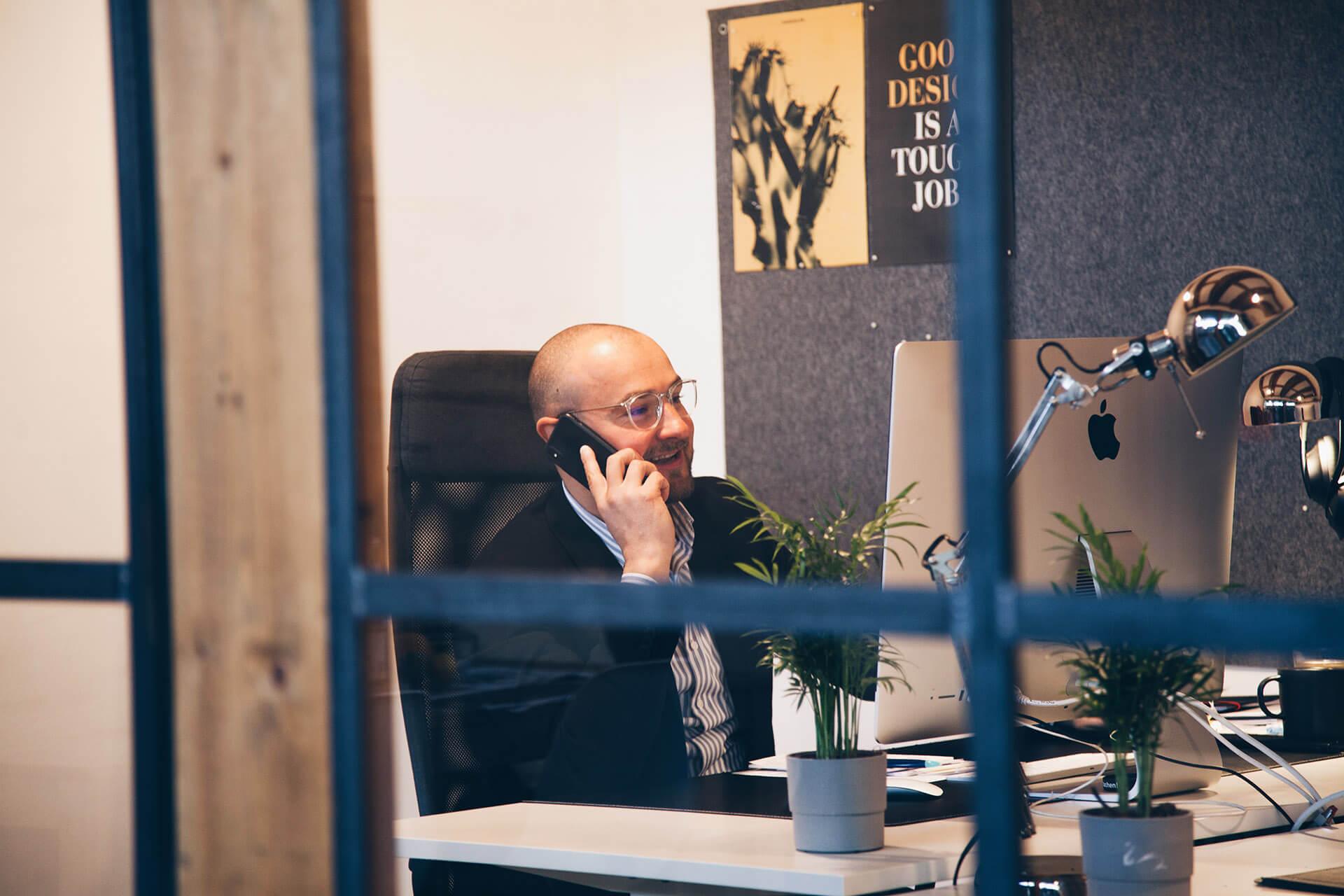 Vinko Basic, Geschäftsführer der VIAL Kreativagentur