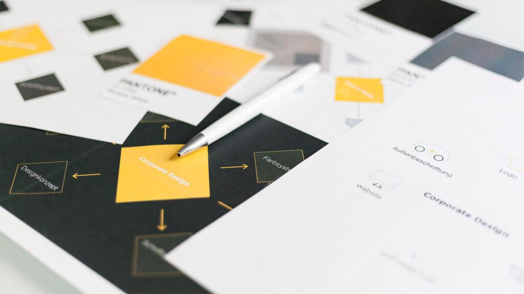 Corporate Design Prozess der VIAl Kreativagentur aus Düsseldorf