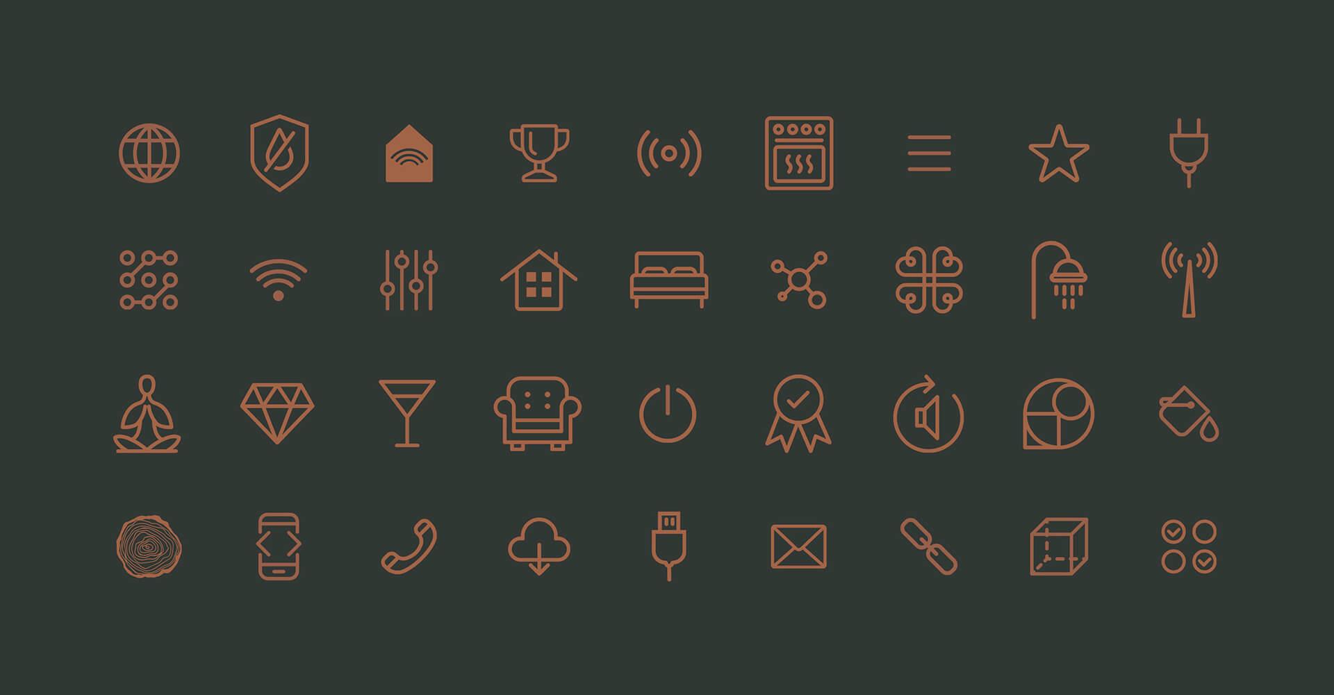 Iconset der VIAl Kreativagentur für Sonoro