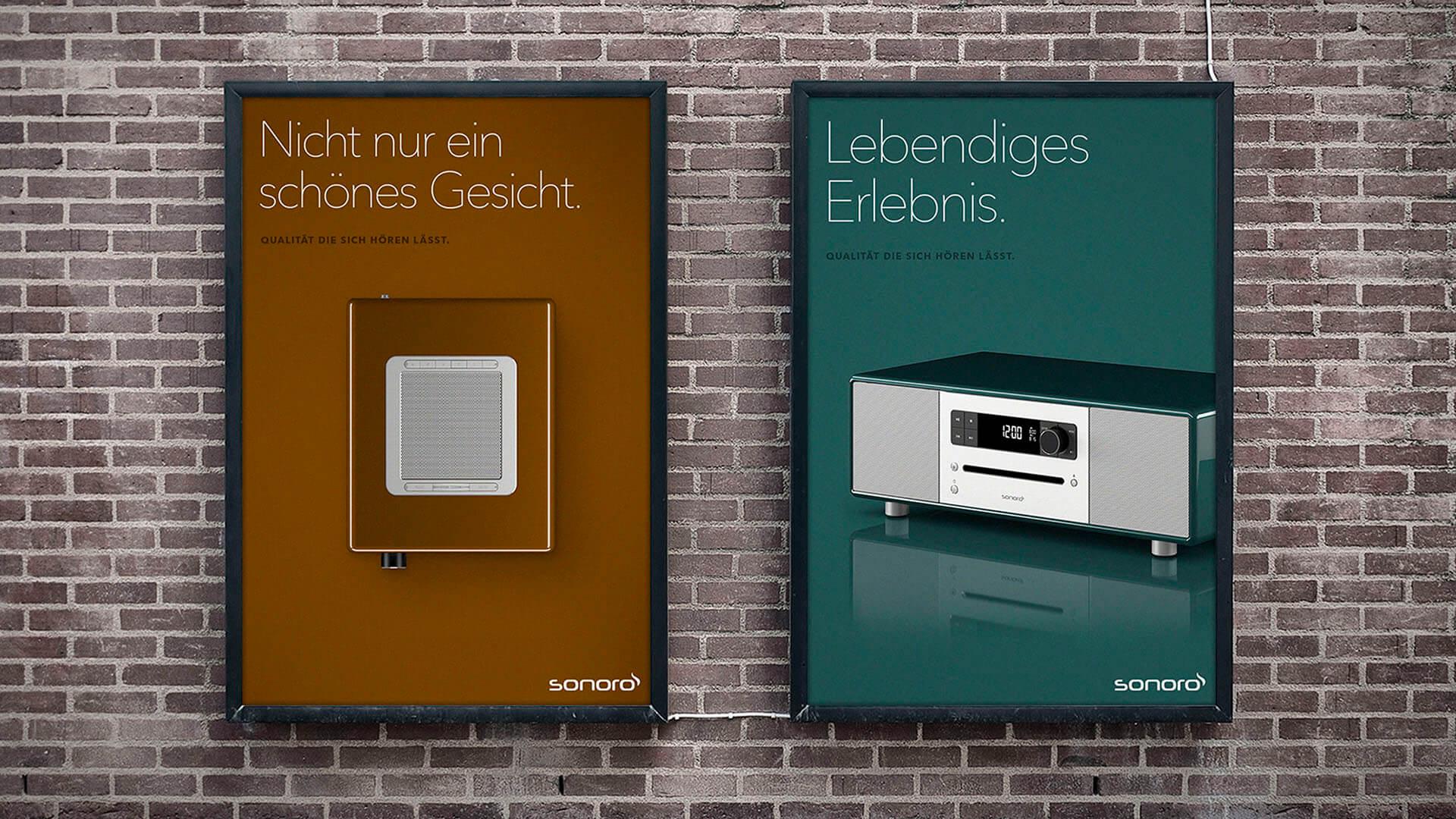 Plakate Sonoro Produkte