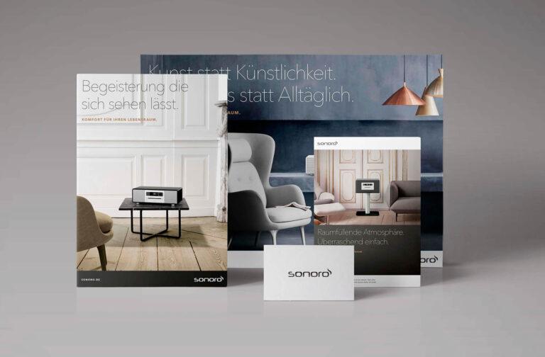 sonoro Markenentwicklung & Corporate Design