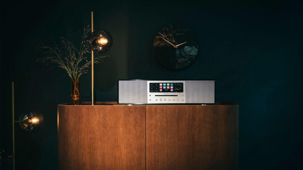 Produktfoto Sonoro Audiogerät in der Umgebung