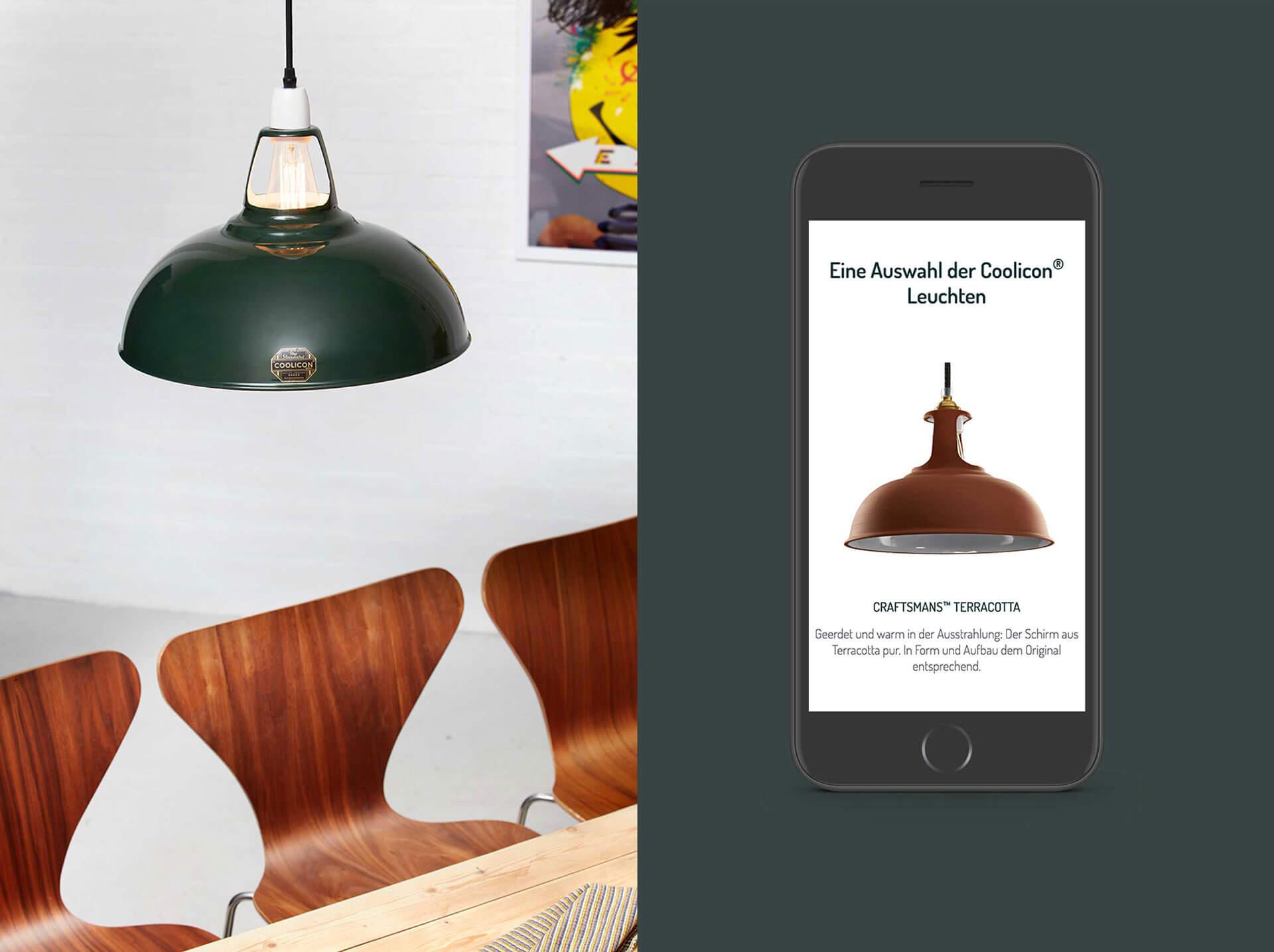 Mobile Produktansicht