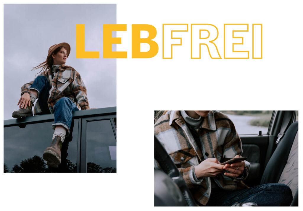 Collage mit Kampagnenfotos