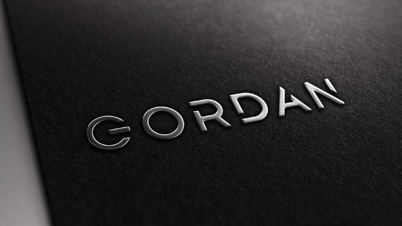 Gordan Visitenkarte Closeup
