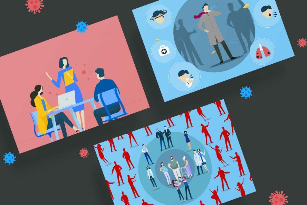 Storyboards GWQ Erklaerfilm
