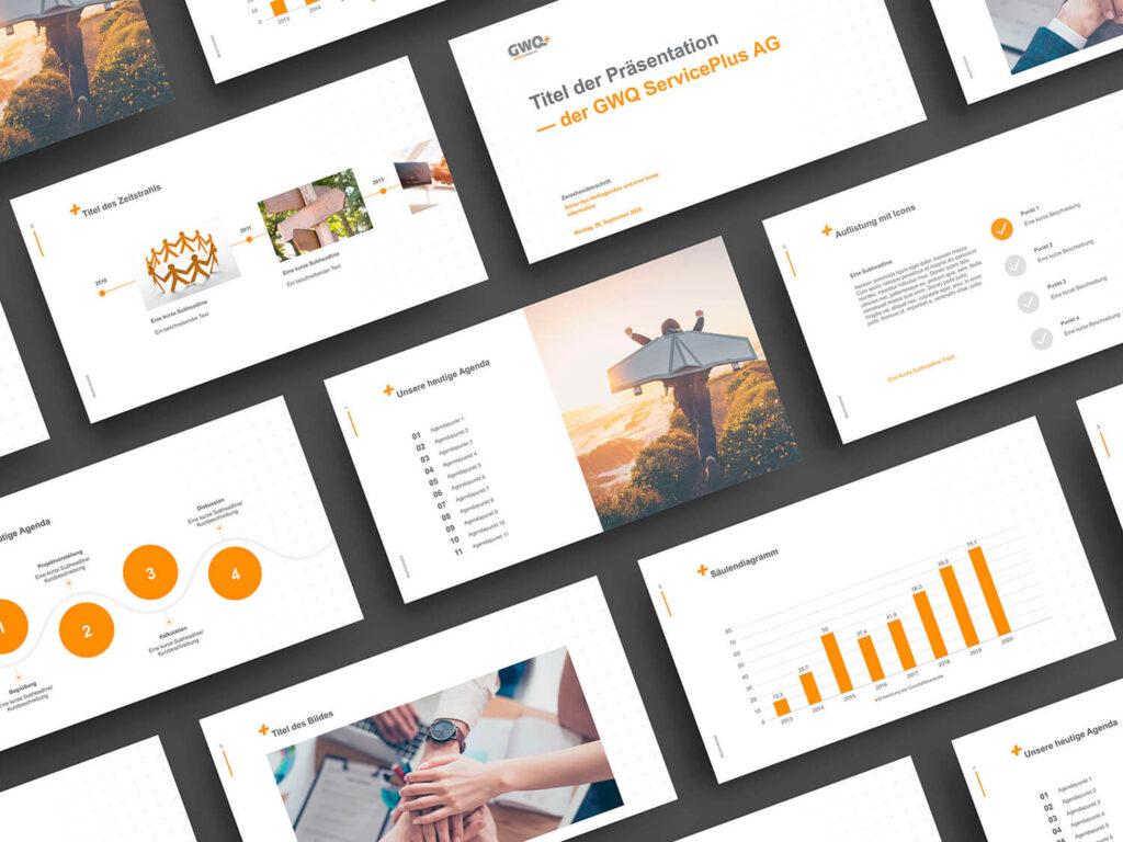 Bilder Unternehmenspräsentation