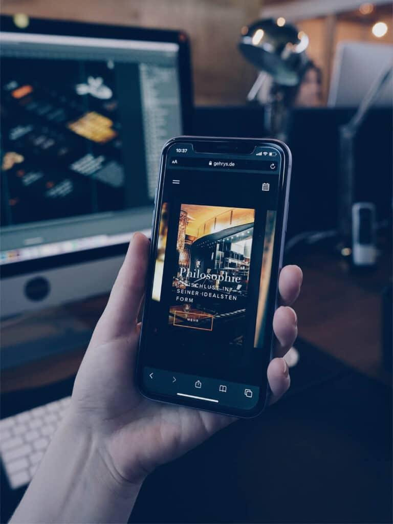 Digitale Erlebnisse am Beispiel einer Webseite
