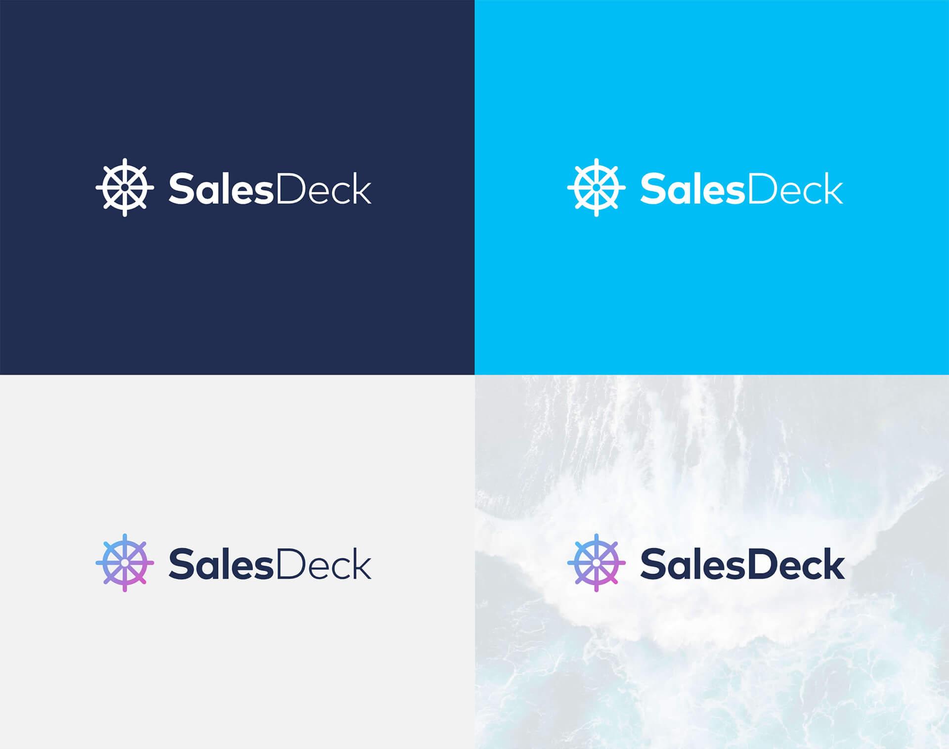 SalesDeck Logo Farbvarianten